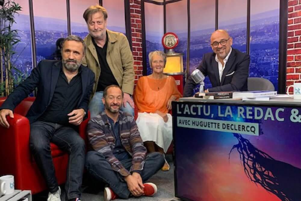 Vidéo de Huguette dans l'émission L'Actu, la Rédac & Vous - Chaîne btlv