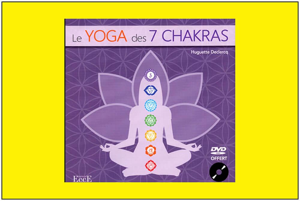 Livre le yoga des 7 chakras