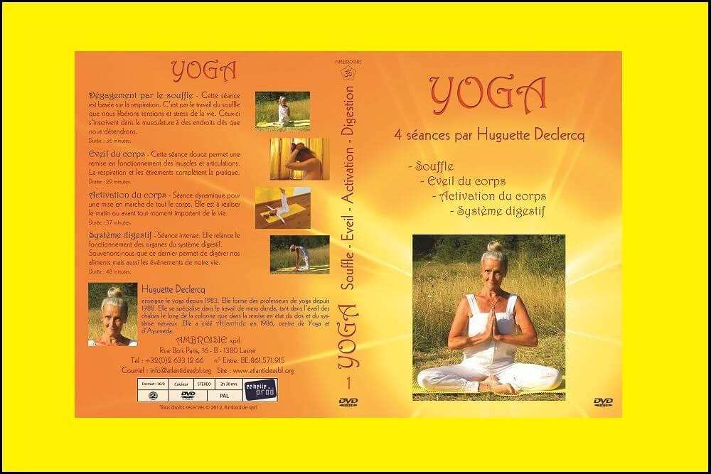 DVD 4 séances de yoga