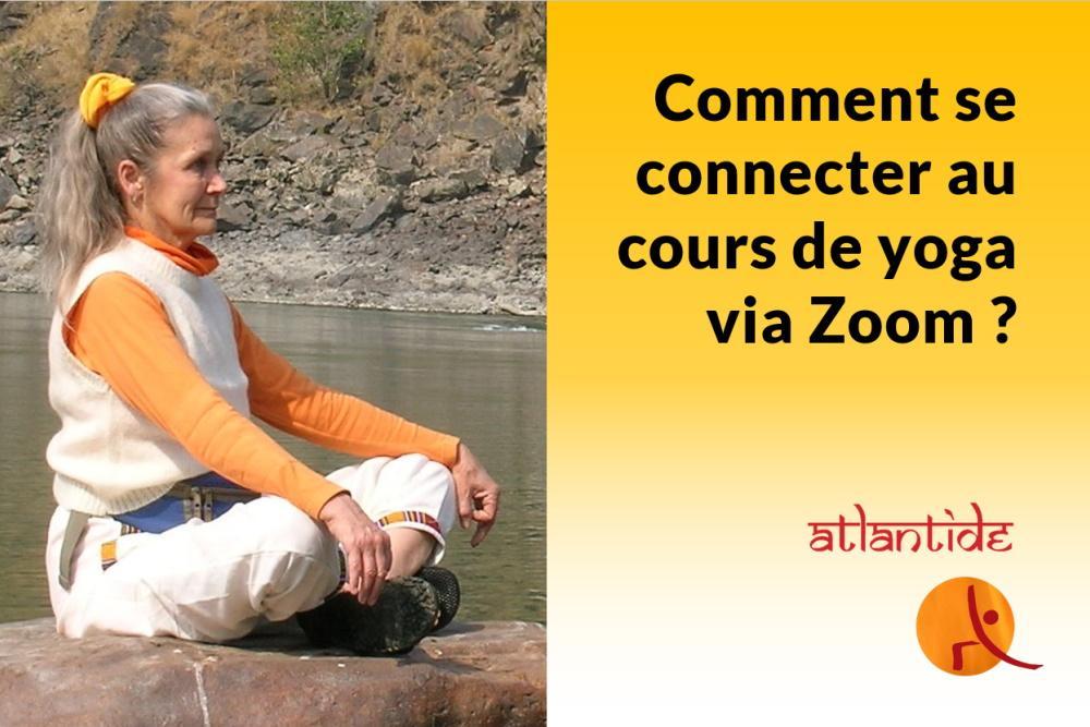 Cours de yoga via Zoom